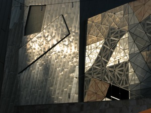 Federation Square Wall