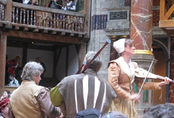 Musicians at the Globe
