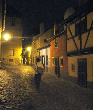 The lanes of Prague
