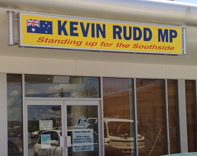 Kevin Rudds Office