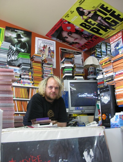 Andrew Leavold at Trash Video