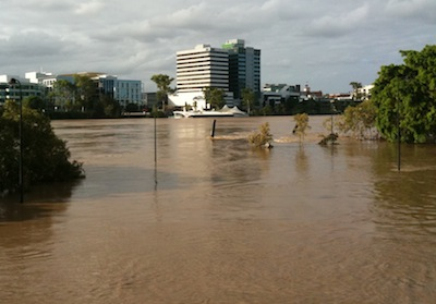 Brisbane River Flood 2011